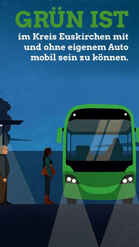 Hans-Werner Ignatowitz - Grün ist im Kreis Euskirchen mit und ohne eigenem Auto mobil sein zu können.